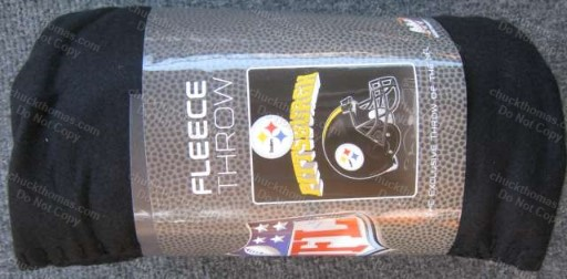 Fleece Helmet Logo Throw
