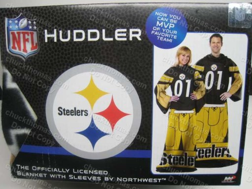 Steeler Huddler Blanket