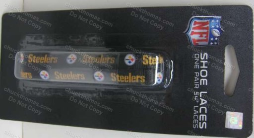 Steeler Black and Gold Shoe Laces