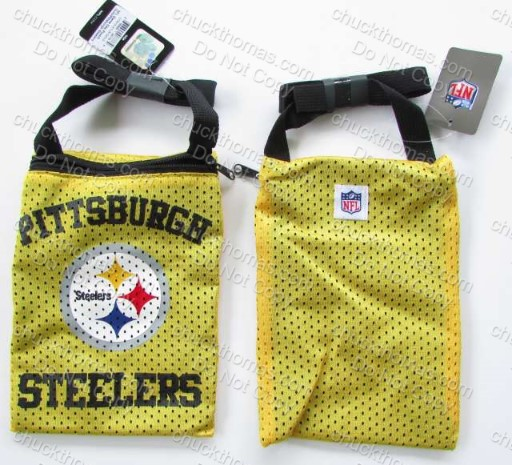 Steelers Game Day Gold Pouch