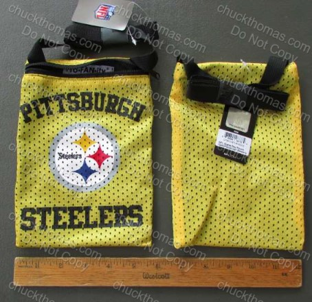 Steelers Gold 6 Inch Carry Pouch