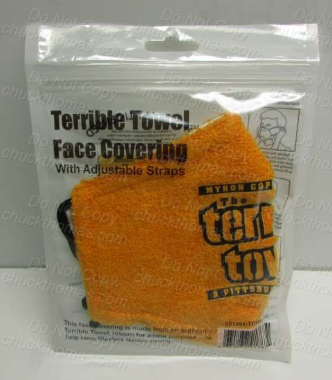 Steelers Terrible Towel Face Covering
