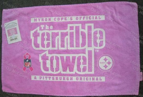 Terrible Towel-Breast Cancer