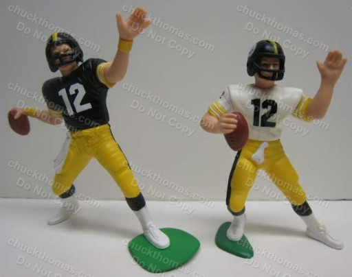 Two Steeler Terry Bradshaw Loose Starting Lineups