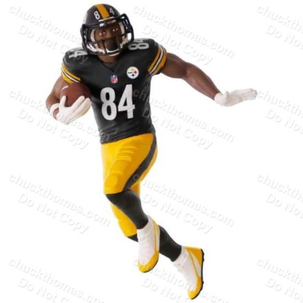 2017 Antonio Brown Hallmark Ornament