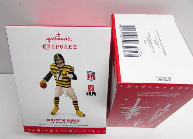 2016 Ben Roethlisberger Hallmakr Ornmanet Bubmlebee Jersey NEW in The Box ON SALE !