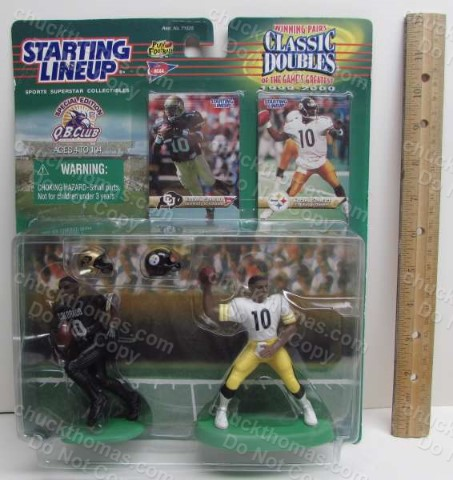 Kenner Classic Doubles Kordell Stewart Starting Lineup