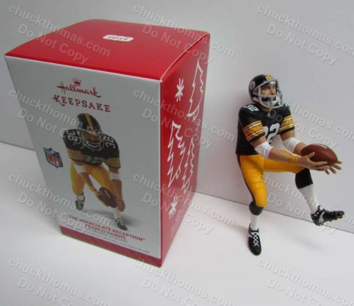 Steeler Franco Harris Hallmark Ornament