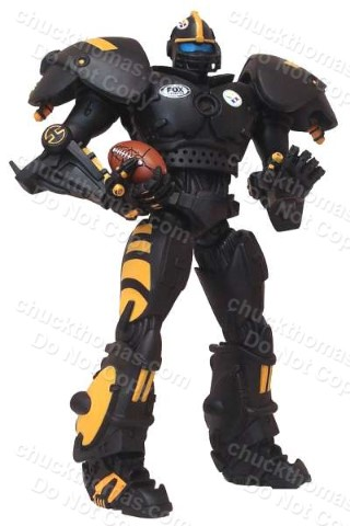 Steelers Cleatus Fox Robot