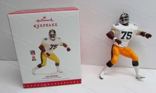 Joe Greene 2015 Hallmark Ornament