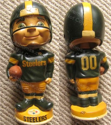 Steeler Retro Bobbing Head Doll