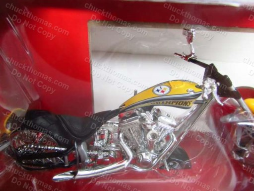 images/Die Cast 1-18 Scale Super Bowl 40 Steeler OCC Chopper Motorcycle