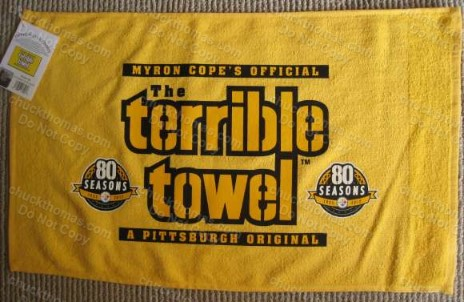 Steelers 80 Seasons Terrible Towel