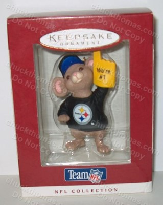 Pittsburgh Steelers Hallmark Ornament