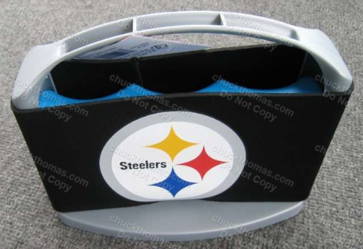 Steelers Beer Soda Iron City Cans Tap Handles