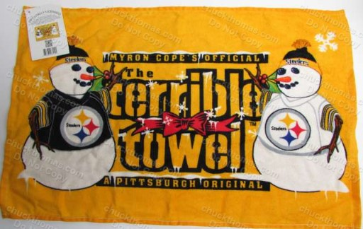 Steeler 'Winter' Gold Terrible Towel