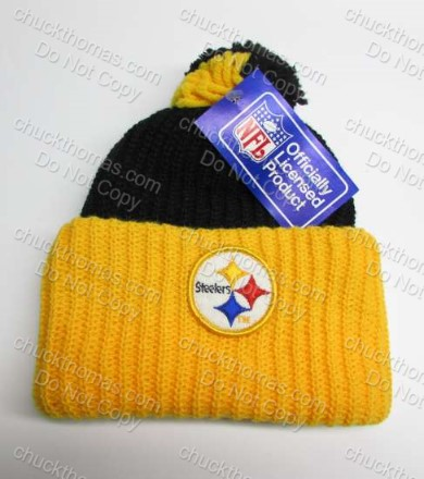 Steeler Pom Pom Hat This is US TV Show