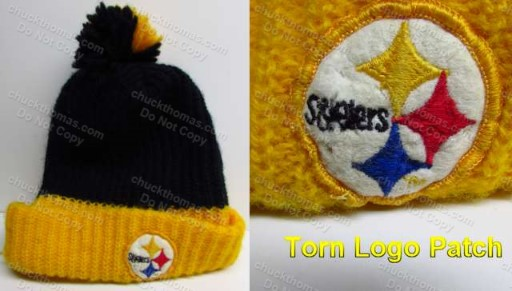 Steeler circa 1980 Black and Gold Tossle Hat