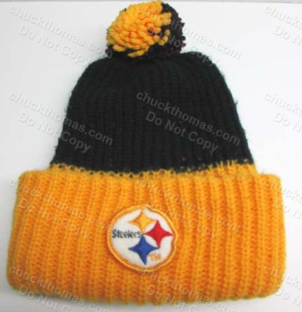 1980s ORIGINAL Steelers Tossel Hat