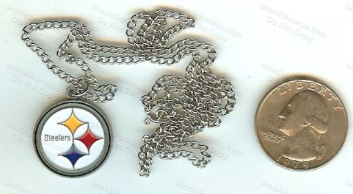 Steelers Medallion and Chain