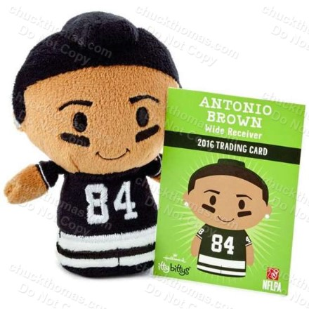 Antonio Brown itty bittys Plush Doll
