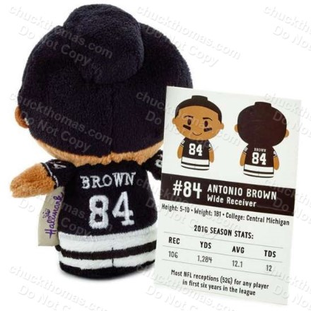 Steeler Antonio Brown Hallmark Doll