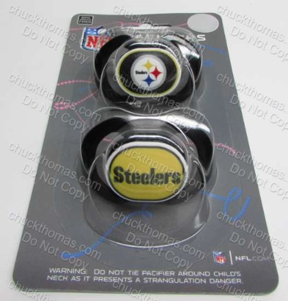 Steelers Black and Gold Pacifier