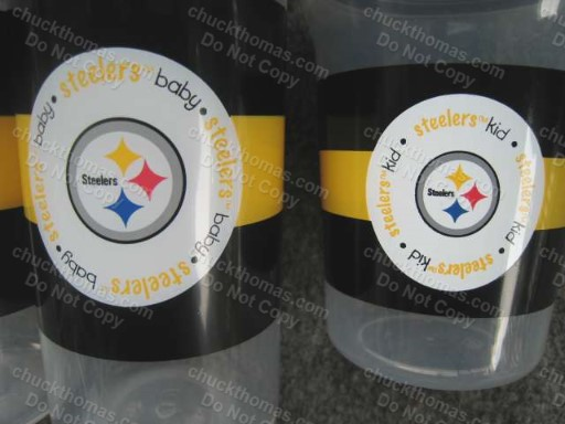 Steelers Baby Bottles and Sippy Cups