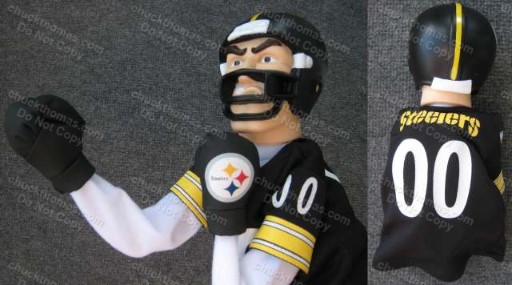 Steeler Boxing Puppet