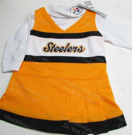 Steeler 2 piece Cheerleading Outfit