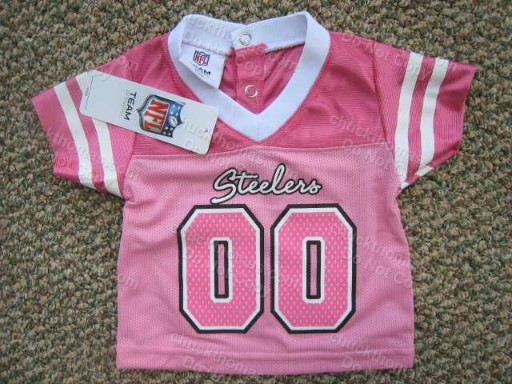 Steelers Pink Jersey Child's Shirt