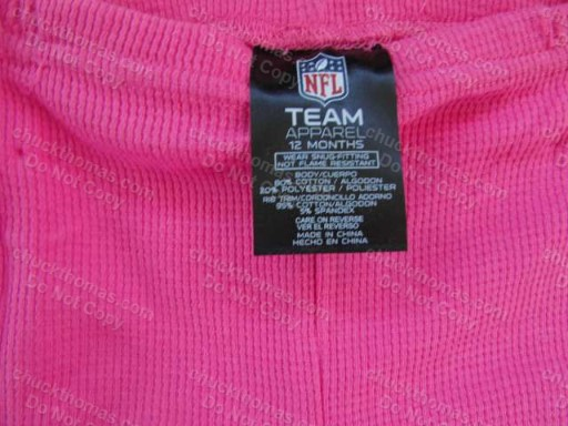 Steelers NEW Pink 2P PJs by Gerber