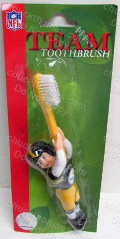 Steeler Football Figure Toothbrush
