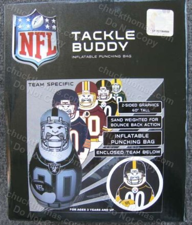 Steeler Kids Tackle Buddy