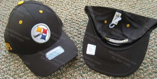 Steelers BLACK Youth Ball Cap