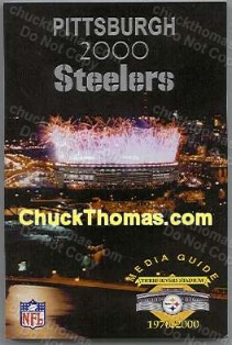 2000 Steeler Media Guide