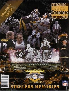 Steelers 2000 Yearbook Featuring the Three Rivers Stadium