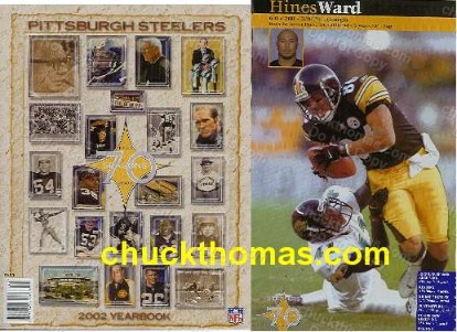 STEELERS 2002 Yearbook
