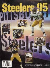 Pittsburgh Steelers 1995 Yearbook