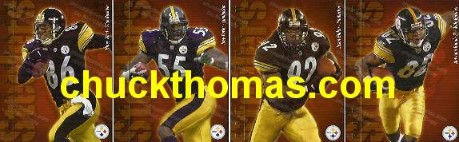 Pittsburgh Steelers 2002 Post Gazette Set