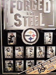 Steeler Forged Steel Advertising Poster