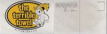 Terrible Towel Postcard