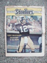 Steeler Weekly Bradshaw Cover