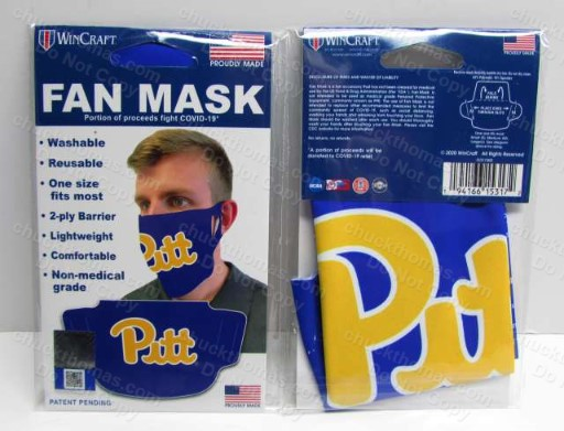 University of Pittsburgh Cloth Face Mask
