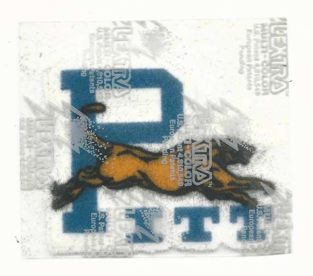 University of Pittsburgh Iron On Patch
