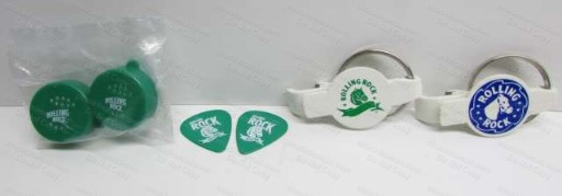 Rolling Rock Gift Package Keyrings and More