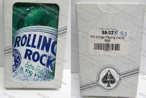 Rolling Rock NEW Bridge Card Deck