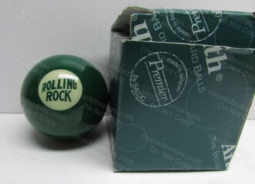 Rolling Rock 33 Cue Ball