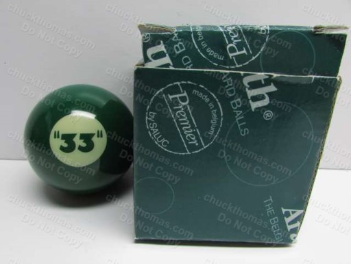 Cue Ball from Rolling Rock Pool Cue Stick Set