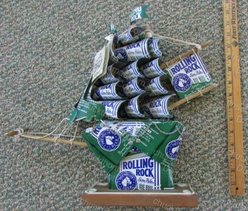 Rolling Rock Kan Kipper Ship